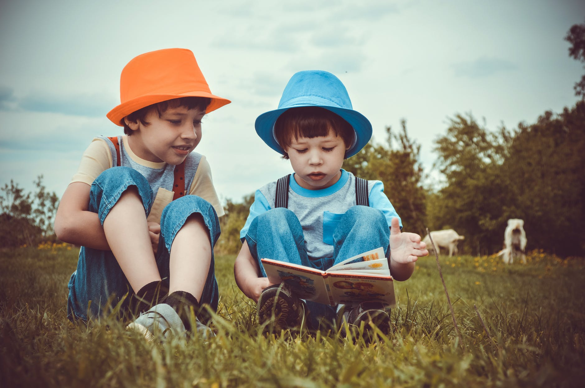 Children can pass reading tests