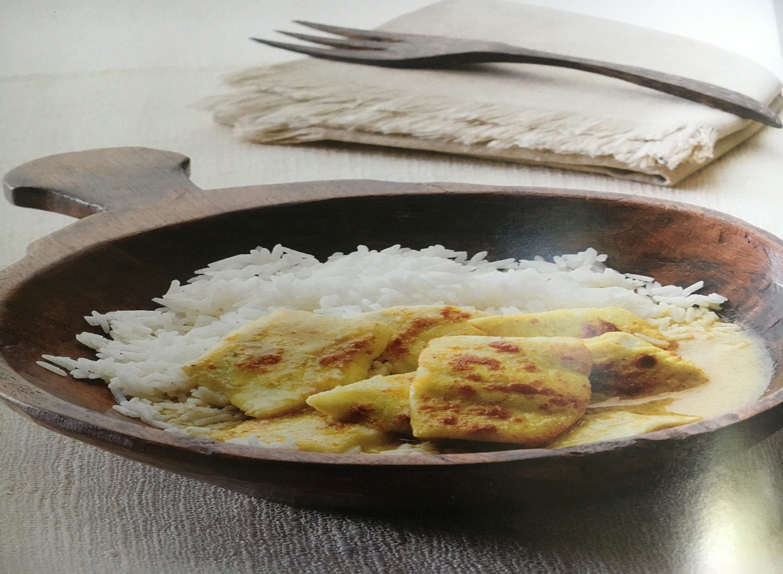 Spiced White Fish Cooked in Coconut